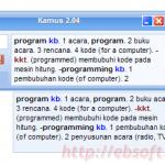 Kamus 2.04 Software Download