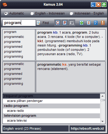 Download kumpulan software terbaru: download software kamus bahasa.