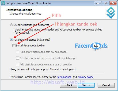 Download Video di Internet dg Freemake Video Downloader