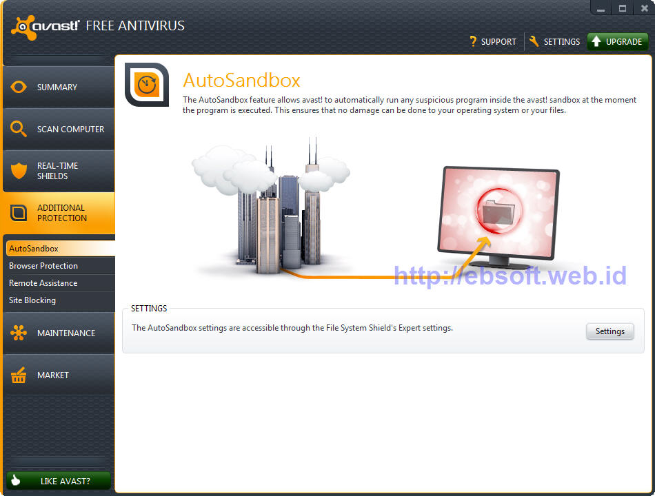 Download Avast Free Antivirus Web Shield Free