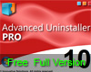 Advanced Uninstaller Pro sekarang Gratis (freeware)