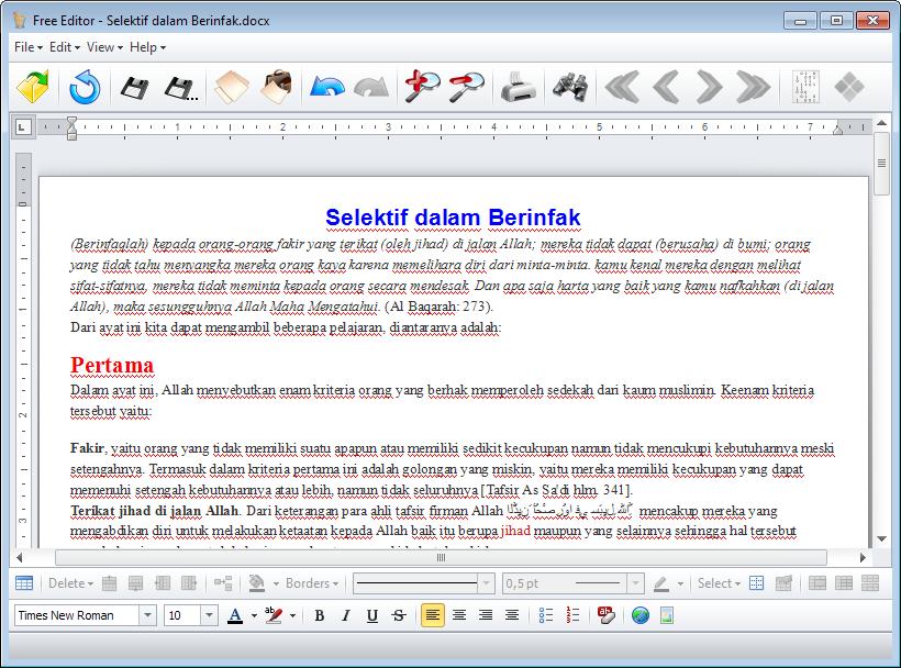 free-editor-docx