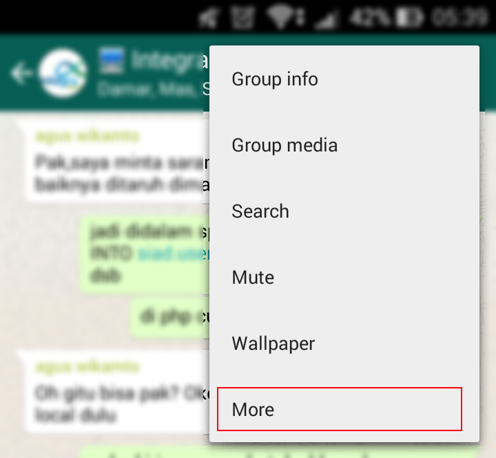Tips Cara Menyimpan Semua Konten Dialog Whatsapp Ebsoft